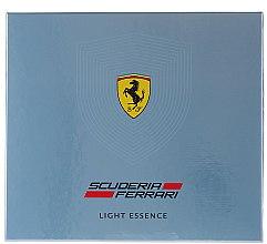 Parfumuri și produse cosmetice Ferrari Light Essence - Set (edt/75ml + sh/gel/150ml)