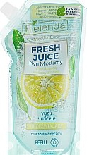 "Духи, Парфюмерия, косметика Apă micelară ""Yuzu"" - Bielenda Fresh Juice Detoxifying Face Micellar Water Yuzu"