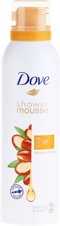 Spumă de duș - Dove Argan Oil Shower Mousse