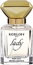 Parfumuri și produse cosmetice Korloff Paris Lady - Mist pentru păr