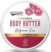 Духи, Парфюмерия, косметика Cremă Unt de corp - Wooden Spoon Bulgarian Rose Body Butter