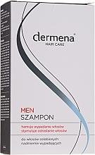 Parfumuri și produse cosmetice Șampon pentru stimularea creșterii părului, bărbați - Dermena Hair Care Men Shampoo