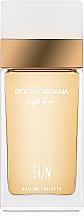 Духи, Парфюмерия, косметика Dolce&Gabbana Light Blue Sun Pour Femme - Туалетная вода