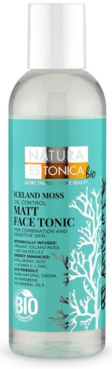 Tonic pentru față cu efect matifiant - Natura Estonica Iceland Moss Face Tonic