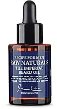 Parfumuri și produse cosmetice Ulei de barbă - Recipe For Men RAW Naturals The Imperial Beard Oil