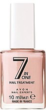 Parfumuri și produse cosmetice Lac de unghii 7în1 - Avon Nail Experts 7 in 1