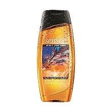 Parfumuri și produse cosmetice Șampon-Gel de duș 2 în 1 - Avon Senses Energising Hair & Body Wash
