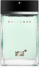 Parfumuri și produse cosmetice Montblanc Presence - Apa de toaletă