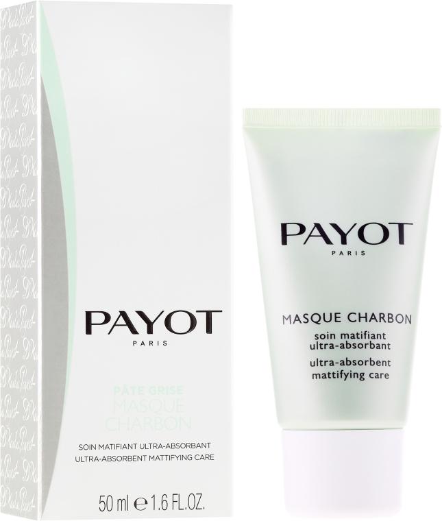Mască de față cu cărbune - Payot Pate Grise Masque Charbon