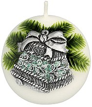 Parfumuri și produse cosmetice Lumânare aromată, 8 cm - Artman Christmas Bell Candle Ball