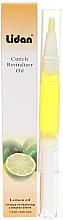 """Parfumuri și produse cosmetice Creion-ulei pentru cuticule """"Lămâie"""" - Lidan Curticle Revitalizer Lemon Oil"""