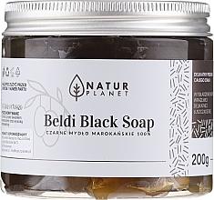 Parfumuri și produse cosmetice Săpun Beldi negru marocan - Natur Planet Moroccan Beldi Black Soap