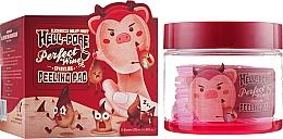 Parfumuri și produse cosmetice Peeling pad-uri pe bază de vin roșu - Elizavecca Hell-Pore Perfect Wine Sparkling Peeling Pad