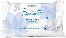 Parfumuri și produse cosmetice Șervețele pentru igienă intimă - Oriflame Feminelle Refreshing Intimate Wipes
