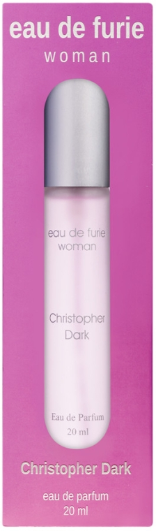 Christopher Dark Woman Eau De Furie - Apă de parfum (mini)