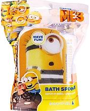 """Parfumuri și produse cosmetice Burete de baie, pentru copii """"Minions"""", Patrick, galben-albastru - Suavipiel Minnioins Bath Sponge"""