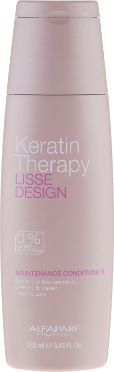 Keratin Conditioner - Alfaparf Lisse Design Keratin Therapy Maintenance Conditioner
