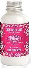 Parfumuri și produse cosmetice Cremă de duș - Institut Karite Fleur de Cerisier Shea Cream Wash Cherry Blossom (mini)