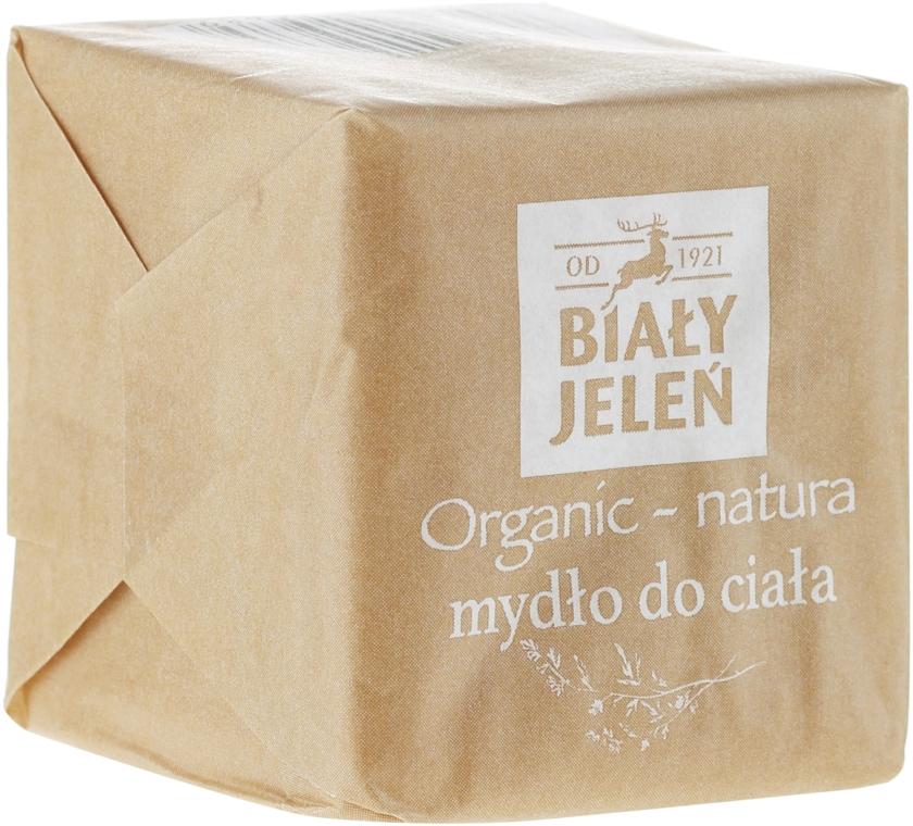 Săpun natural pentru corp - Bialy Jelen Organic-Nature