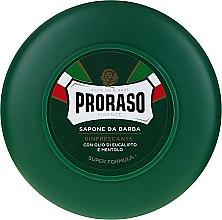 Parfumuri și produse cosmetice Săpun de bărbierit cu mentol și eucalipt - Proraso Green Shaving Soap