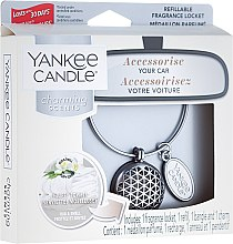 Parfumuri și produse cosmetice Aromatizator auto - Yankee Candle Car Jar Charming Scents Geometric Fluffy Towels