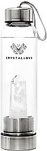 Parfumuri și produse cosmetice Sticlă cu cristal de cuarț alb, 500ml - Crystallove