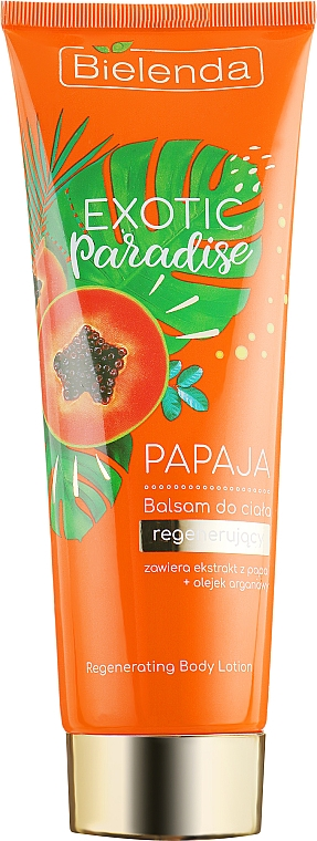 """Balsam de corp """"Papaya"""" - Bielenda Exotic Paradise Balsam"""
