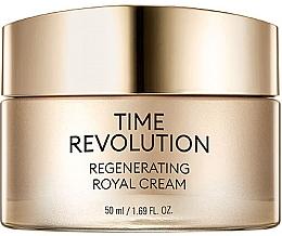 Parfumuri și produse cosmetice Cremă restaurativă pentru față - Missha Time Revolution Regenerating Royal Cream