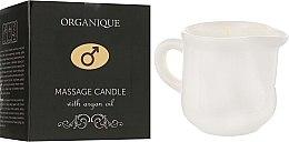 Parfumuri și produse cosmetice Lumânare cu ulei de argan pentru SPA masaj - Organique Spa Candle