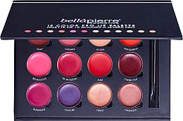 Parfumuri și produse cosmetice Paletă pentru machiajul buzelor - Bellapierre 12 Color Pro Lip Palette
