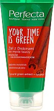 Parfumuri și produse cosmetice Gel de spălare - Perfecta Your Time is Green