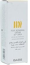 Parfumuri și produse cosmetice Cremă pentru picioare, 10% uree - Babe Laboratorios Foot Repairing Cream 10 % Urea