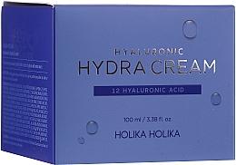 Parfumuri și produse cosmetice Cremă cu acid hialuronic pentru față - Holika Holika Hyaluronic Hydra Cream