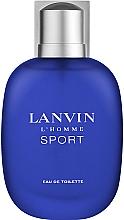 Parfumuri și produse cosmetice Lanvin L'Homme Sport - Apa de toaletă
