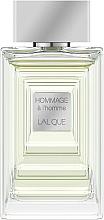 Parfumuri și produse cosmetice Lalique Hommage a L'Homme - Apă de toaletă