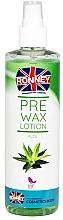 Parfumuri și produse cosmetice Loțiune înainte de depilare - Ronney Pre Wax Lotion Aloe