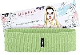 """Parfumuri și produse cosmetice Bandă elastică pentru cap, verde deschis, """"Be Beauty"""" - MakeUp"""