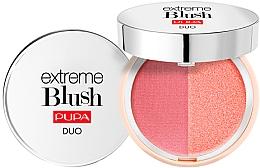 Parfumuri și produse cosmetice Fard de obraz dublu compact - Pupa Extreme Blush Duo