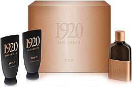 Parfumuri și produse cosmetice Tous 1920 The Origin - Set (edt/100ml + sh/gel/100ml + ash/b/100ml)