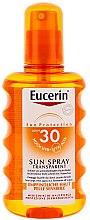 Parfumuri și produse cosmetice Spray de corp, protecție solară SPF 30 - Eucerin Sun Spray Transparent SPF 30