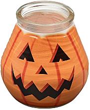 """Parfumuri și produse cosmetice Lumânare decorativă în suport de sticlă """"Patiolight Pumpkin"""", 94/91 mm - Bolsius Candle"""