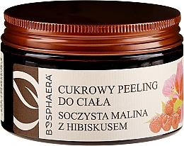 """Scrub de corp """"Zmeură suculentă cu hibiscus"""" - Bosphaera — Imagine N1"""