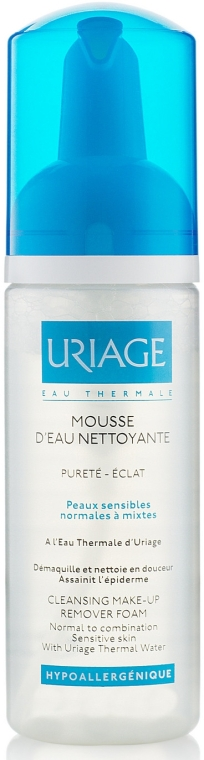 Spumă de curățare - Uriage Cleansing Make-up Remover Foam — Imagine N1