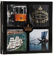 Parfumuri și produse cosmetice Set - Essencias De Portugal Living Portugal (soap/4x50g) (4 x 50 g)