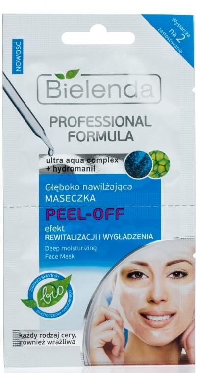 Masca pentru hidratare profundă Peel-Off - Bielenda Professional Formula