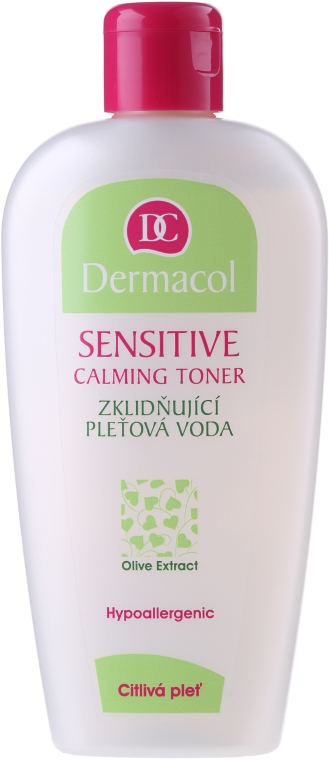 Loțiune tonică calmantă - Dermacol Sensitive Calming Toner — Imagine N1