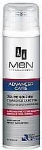 Духи, Парфюмерия, косметика Гель для бритья - AA Men Advanced Care Tough Beard Shaving Gel