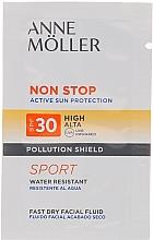 Parfumuri și produse cosmetice Fluid pentru față - Anne Moller Non Stop Facial Fluid SPF30+ (mostră)