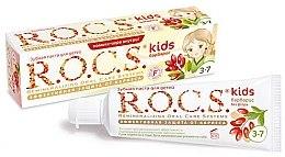 """Parfumuri și produse cosmetice Pastă de dinți """"Barberry"""" - R.O.C.S. Kids Barberry Toothpaste"""