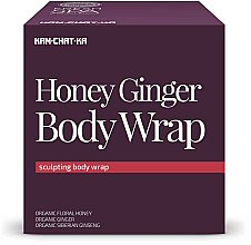 Parfumuri și produse cosmetice Cremă de corp cu miere și ghimbir cu efect tonifiant - Natura Siberica Fresh Spa Kam-Chat-Ka Honey Ginger Body Wrap